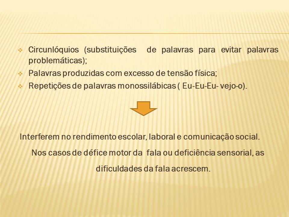 Circunlóquios (substituições de palavras para evitar palavras problemáticas);
