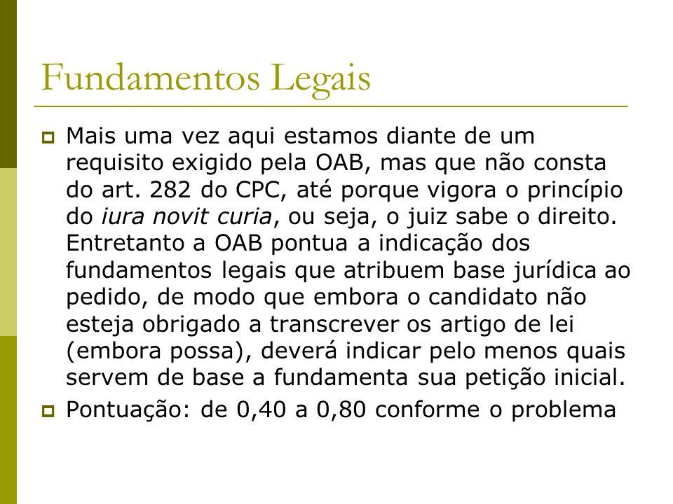 Fundamentos Legais