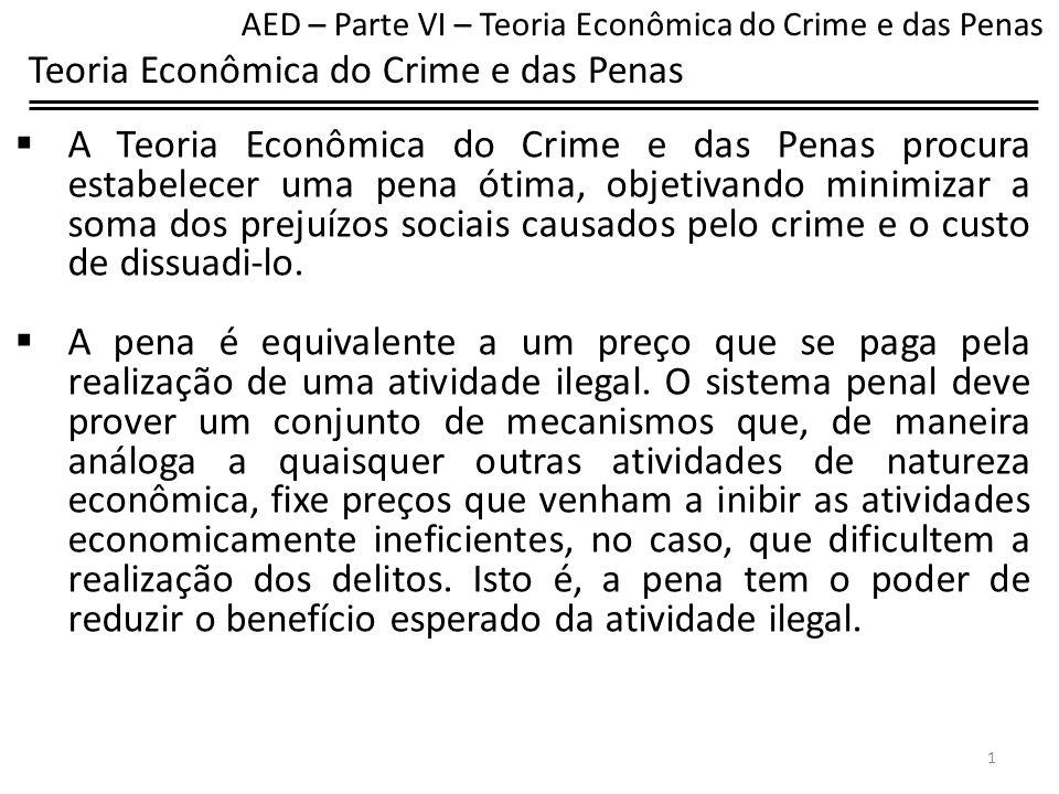 Teoria Econômica do Crime e das Penas