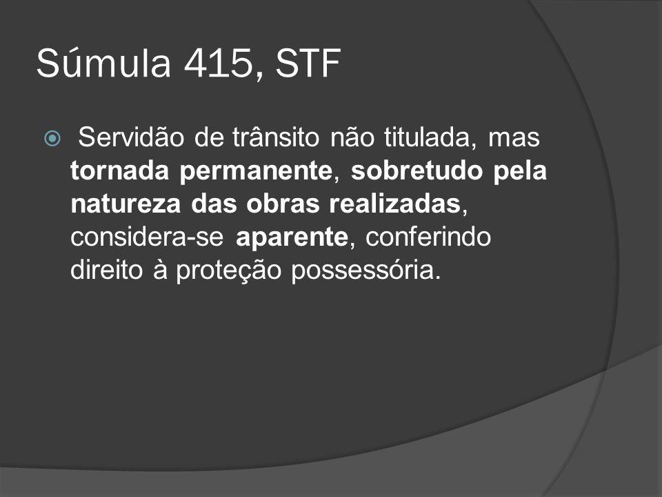 Súmula 415, STF