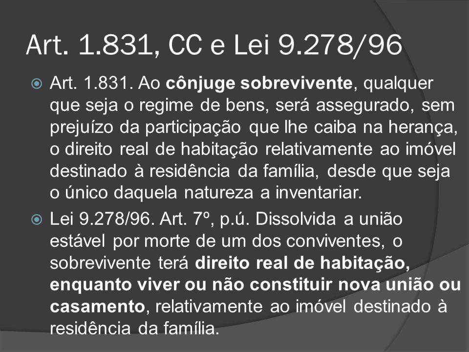 Art. 1.831, CC e Lei 9.278/96