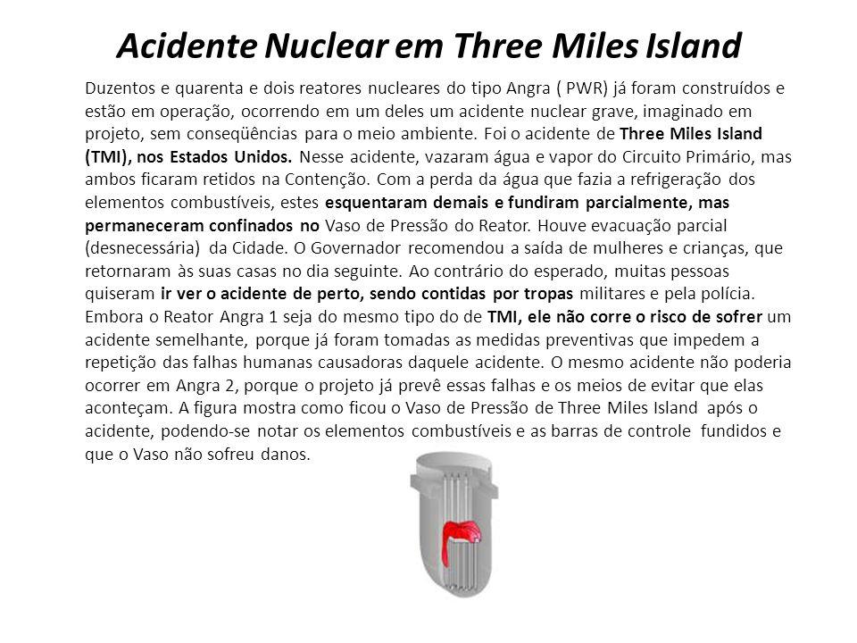 Acidente Nuclear em Three Miles Island