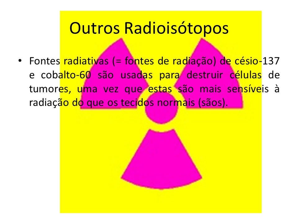 Outros Radioisótopos