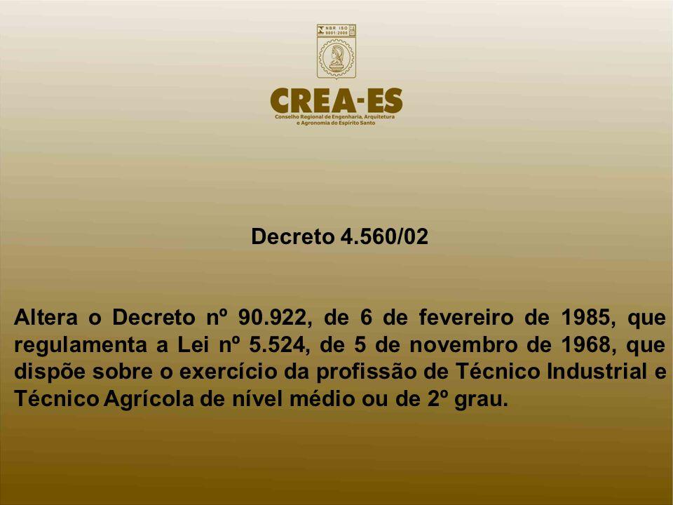 Decreto 4.560/02
