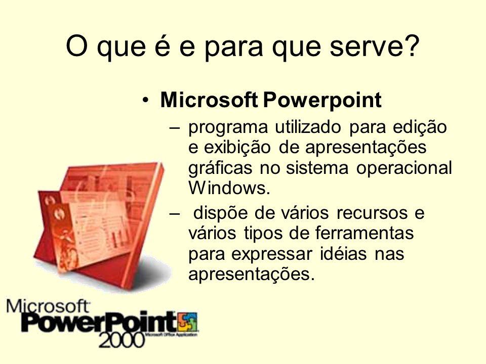 O que é e para que serve Microsoft Powerpoint