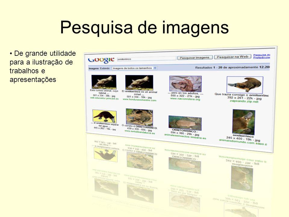 Pesquisa de imagens De grande utilidade para a ilustração de trabalhos e apresentações