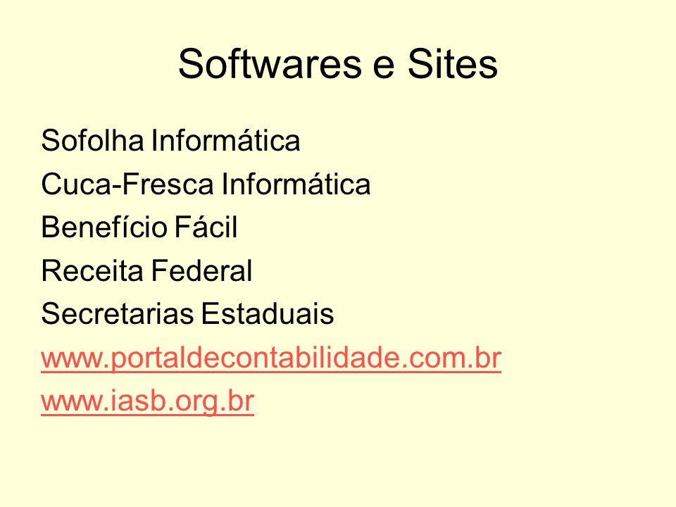 Softwares e Sites Sofolha Informática Cuca-Fresca Informática