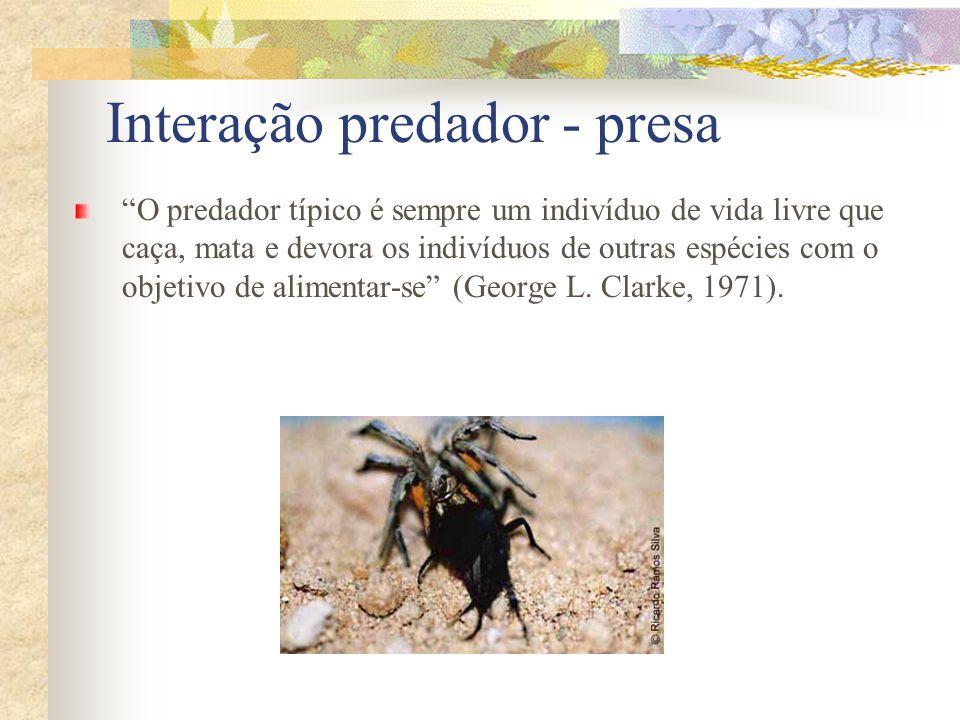 Interação predador - presa