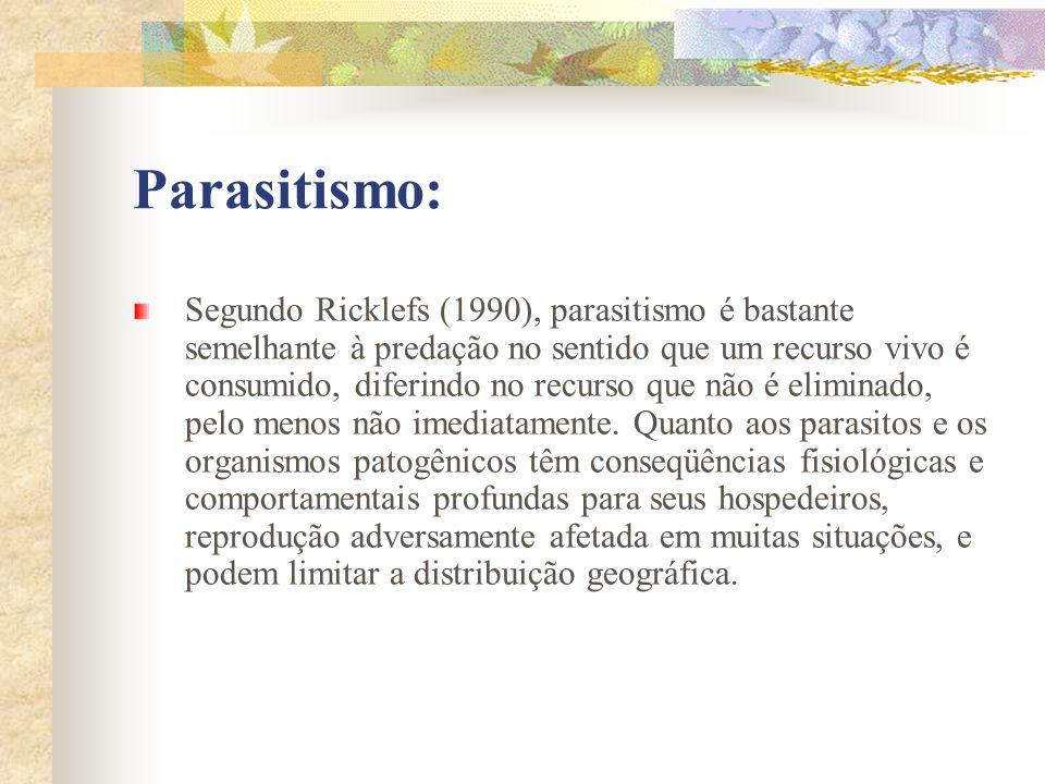 Parasitismo: