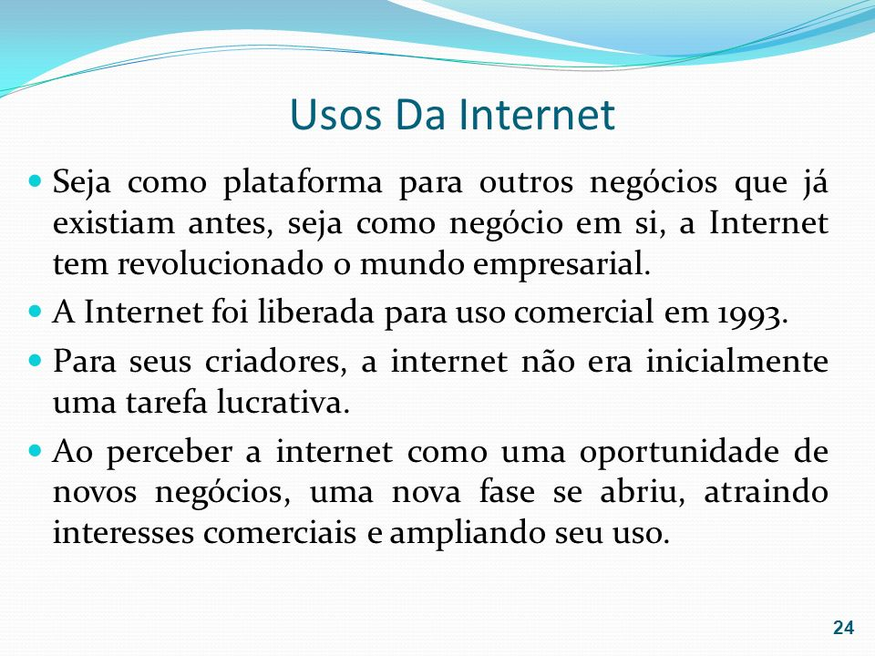 Usos Da Internet