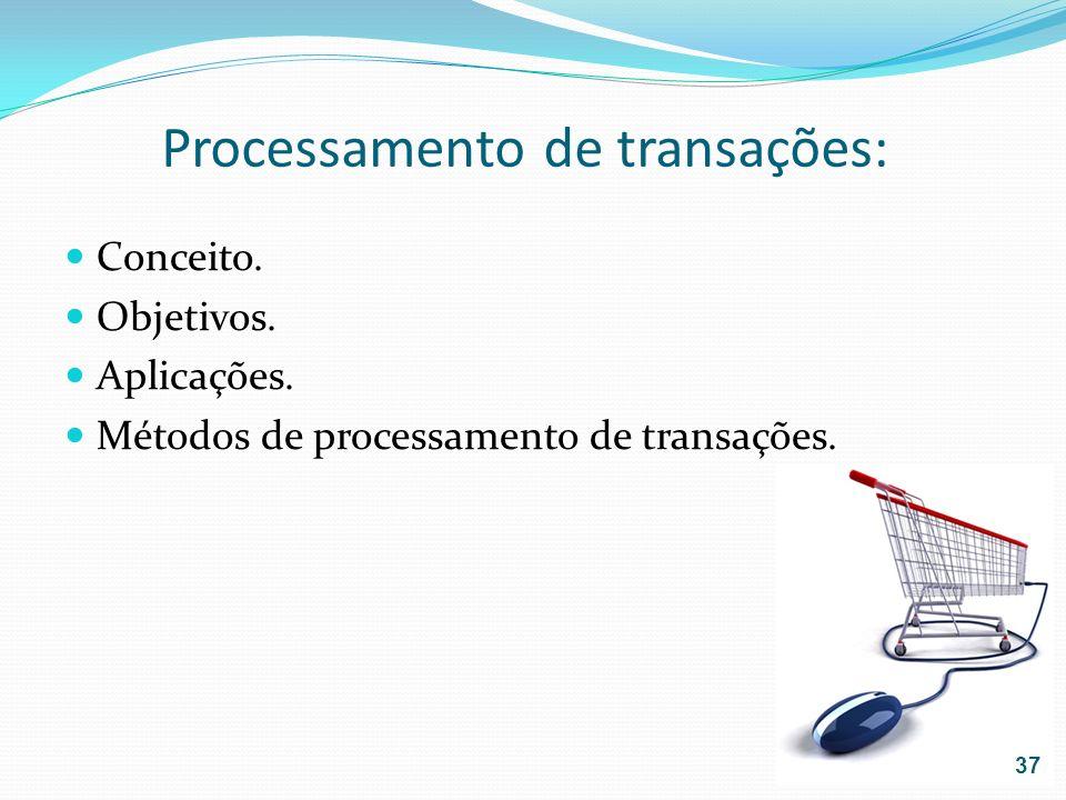 Processamento de transações: