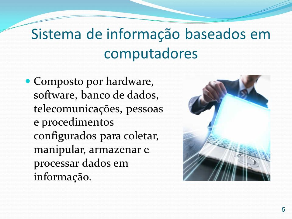 Sistema de informação baseados em computadores