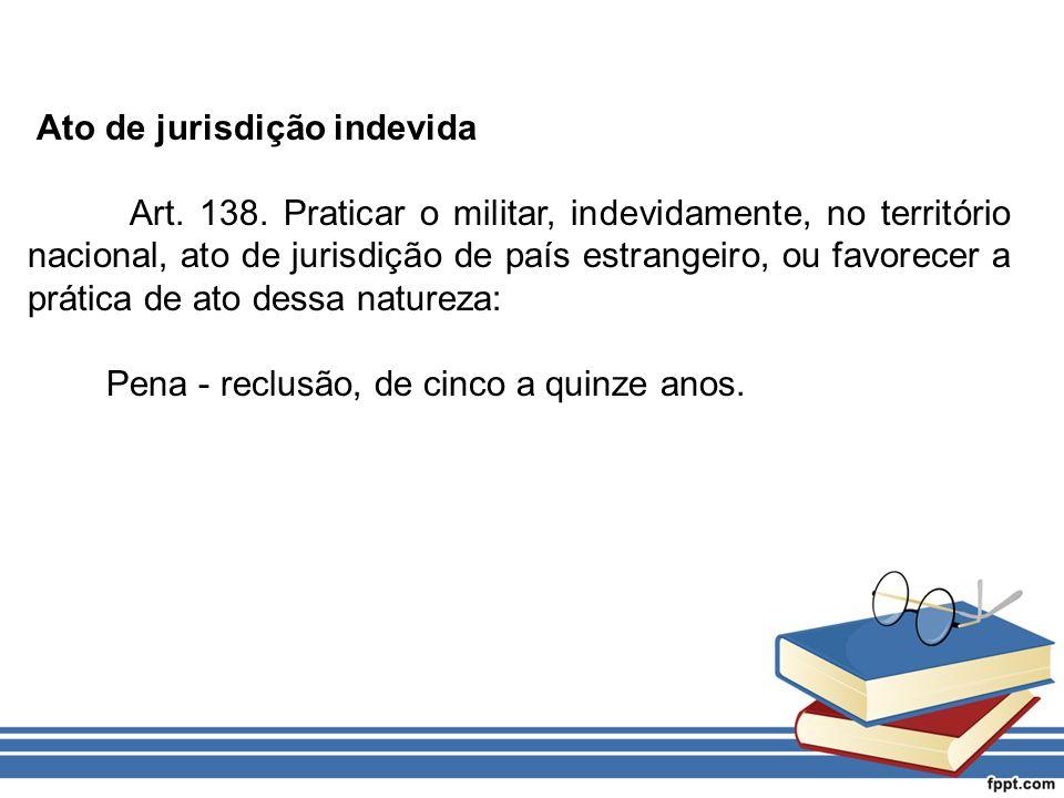 Ato de jurisdição indevida
