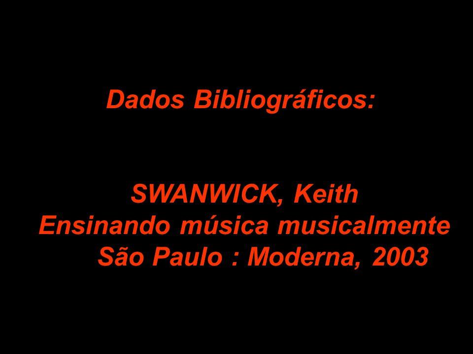 Dados Bibliográficos: Ensinando música musicalmente