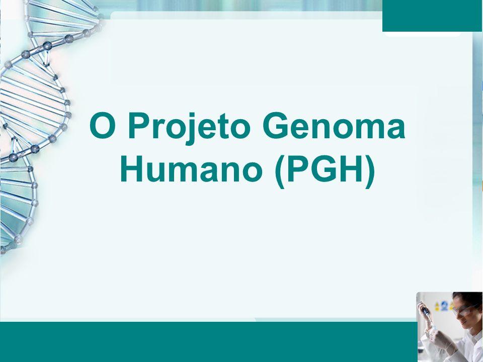 O Projeto Genoma Humano (PGH)