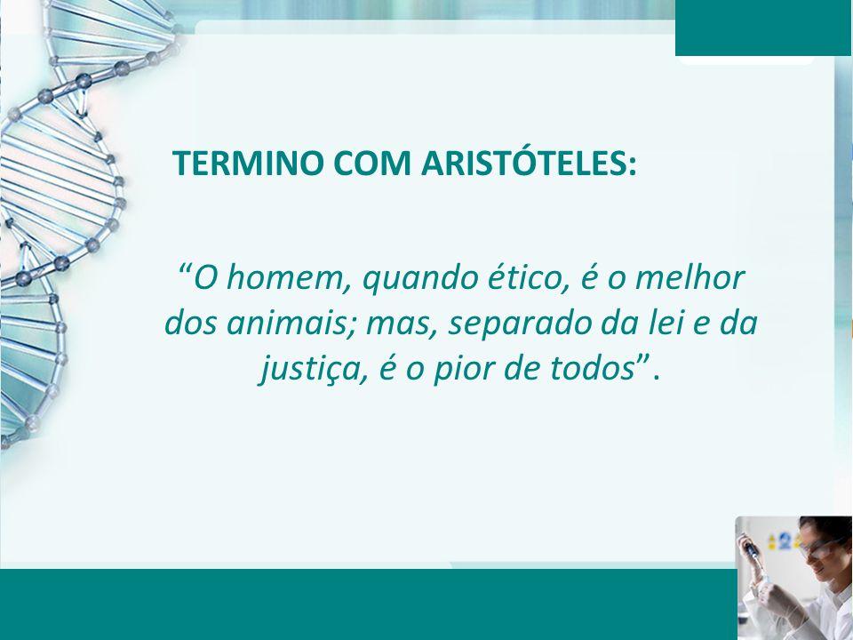 TERMINO COM ARISTÓTELES: