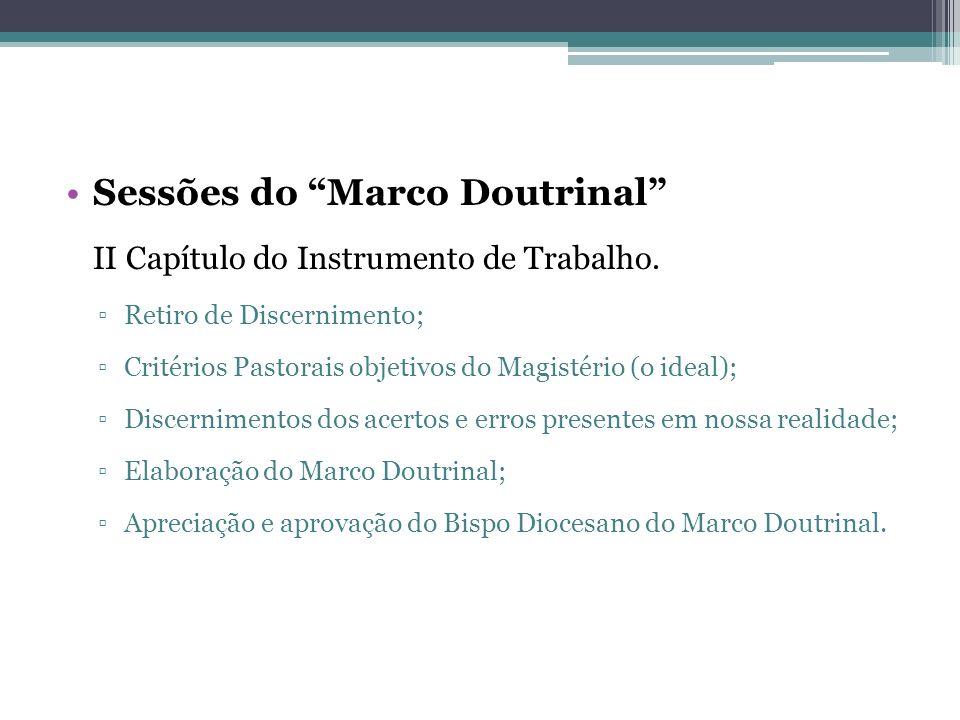 Sessões do Marco Doutrinal