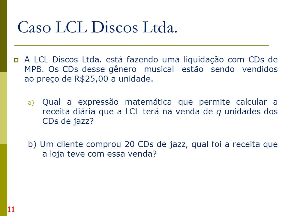 Caso LCL Discos Ltda.