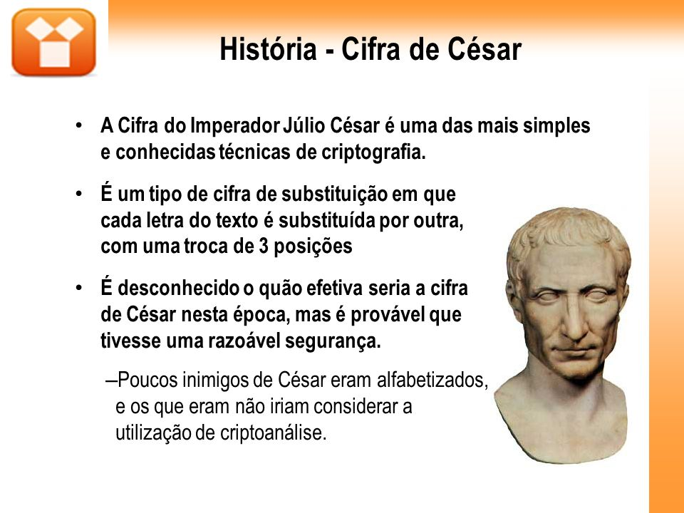 História - Cifra de César