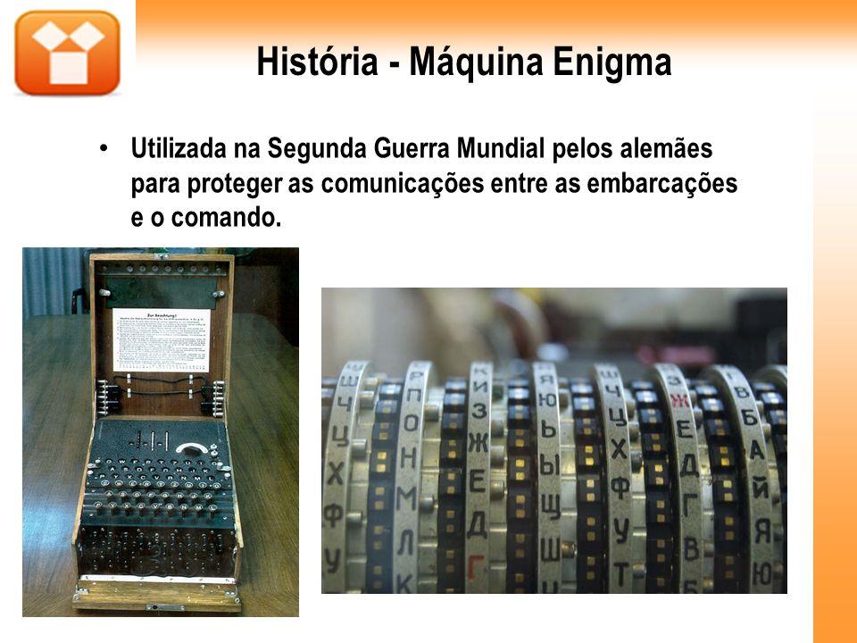 História - Máquina Enigma