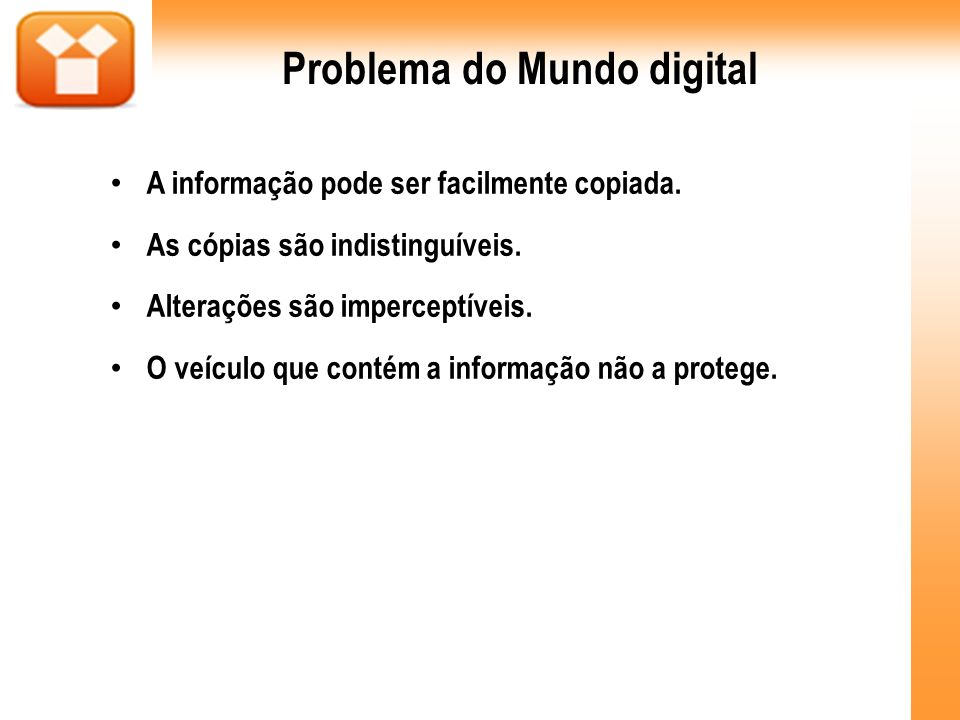 Problema do Mundo digital