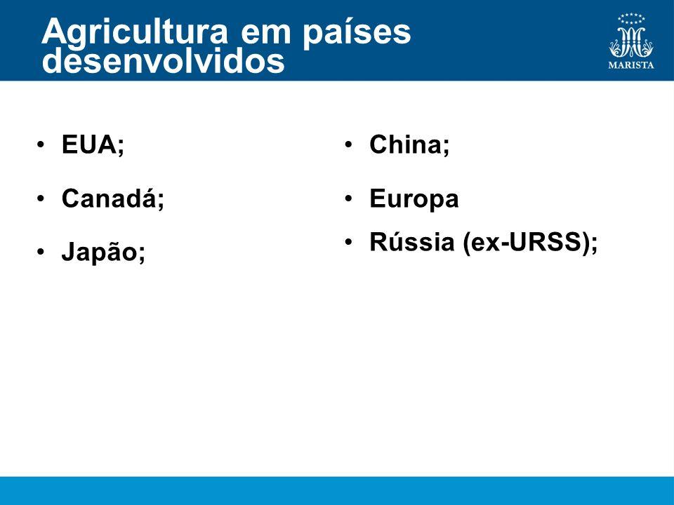 Agricultura em países desenvolvidos