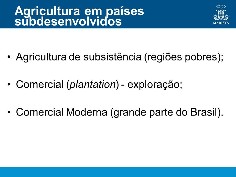 Agricultura em países subdesenvolvidos