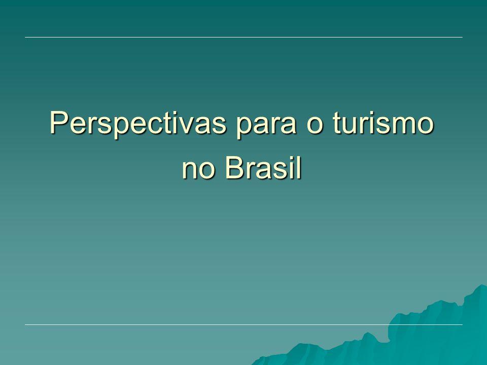 Perspectivas para o turismo no Brasil