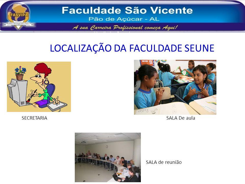 LOCALIZAÇÃO DA FACULDADE SEUNE