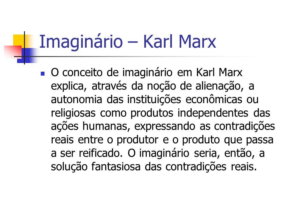 Imaginário – Karl Marx