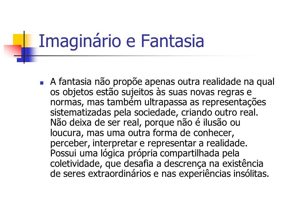 Imaginário e Fantasia