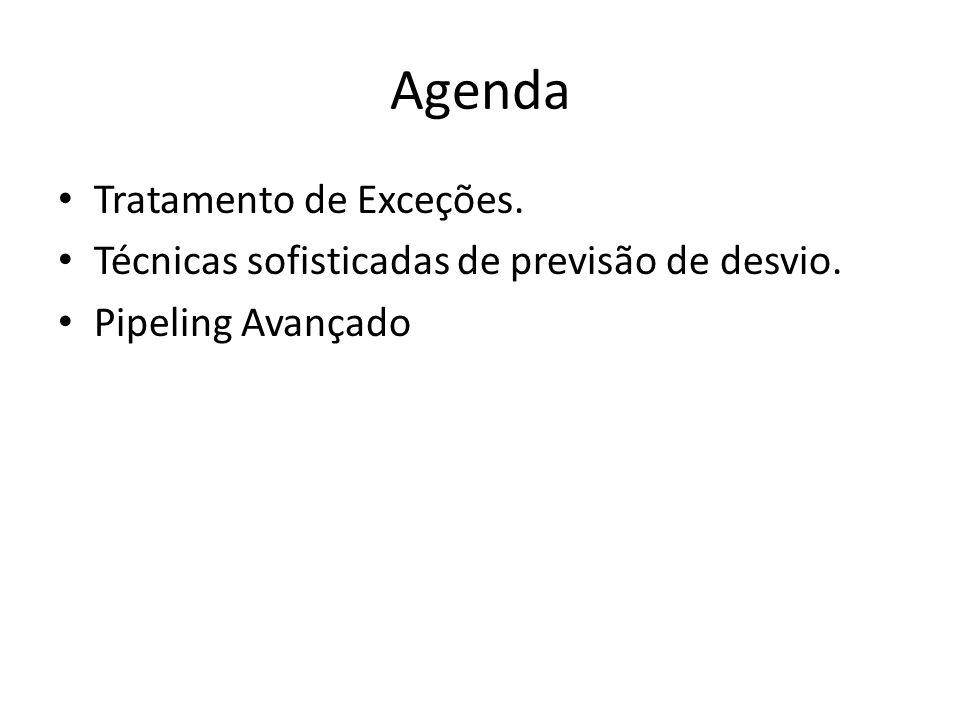 Agenda Tratamento de Exceções.