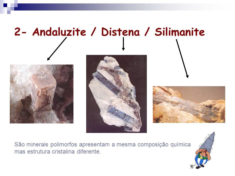 2- Andaluzite / Distena / Silimanite