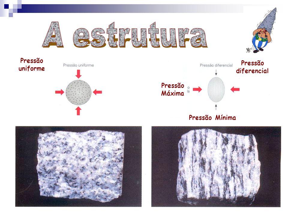 A estrutura Pressão uniforme Pressão diferencial Pressão Máxima