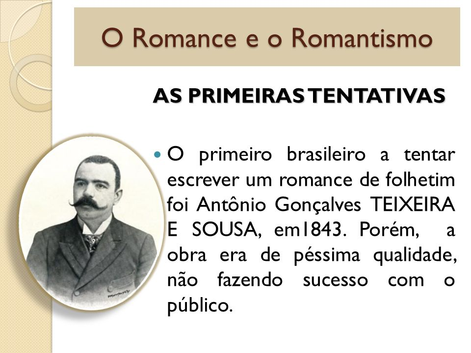 O Romance e o Romantismo