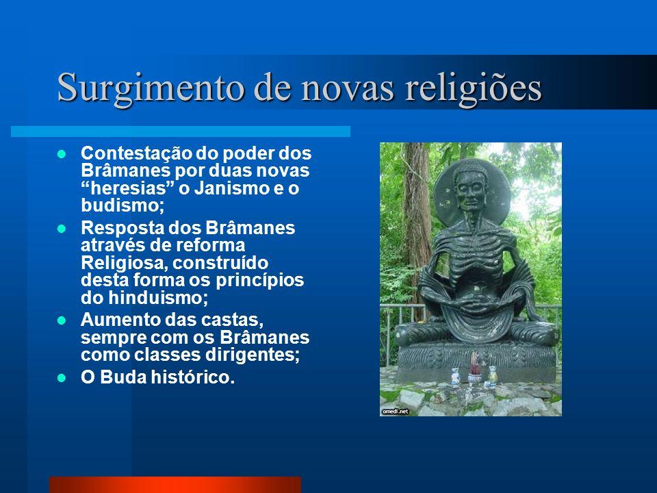Surgimento de novas religiões