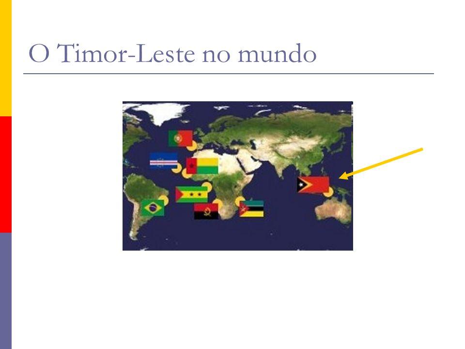 O Timor-Leste no mundo