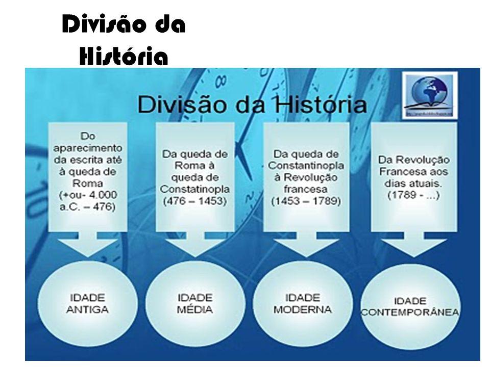 Divisão da História