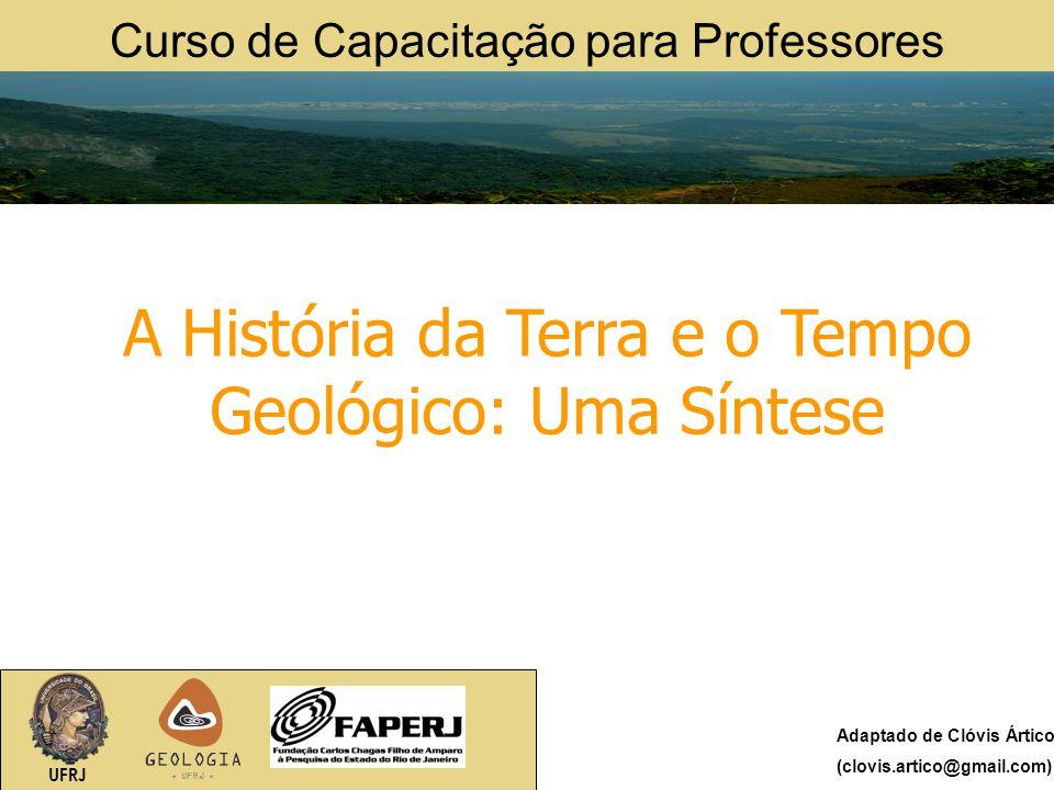 A História da Terra e o Tempo Geológico: Uma Síntese