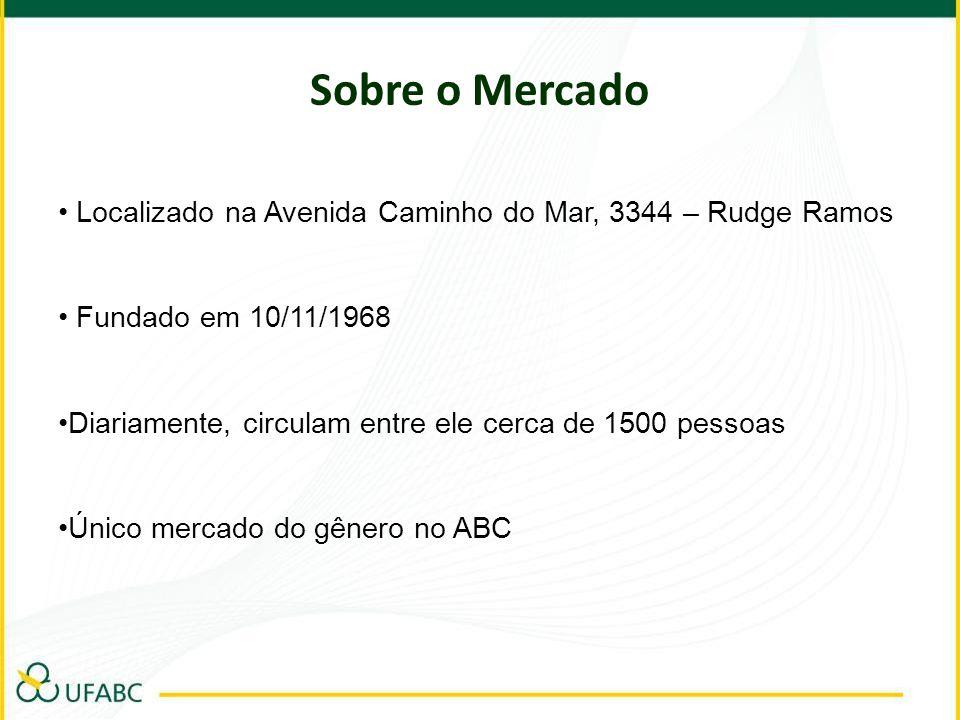 Sobre o MercadoLocalizado na Avenida Caminho do Mar, 3344 – Rudge Ramos. Fundado em 10/11/1968.