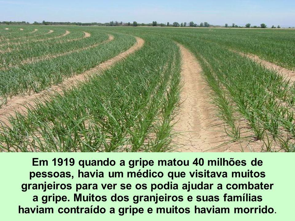 Em 1919 quando a gripe matou 40 milhões de