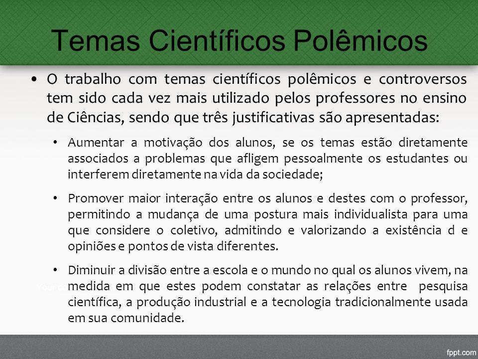 Temas Científicos Polêmicos