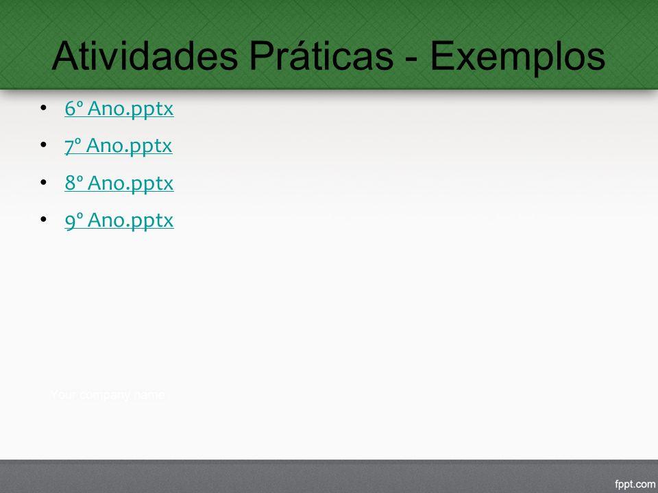 Atividades Práticas - Exemplos