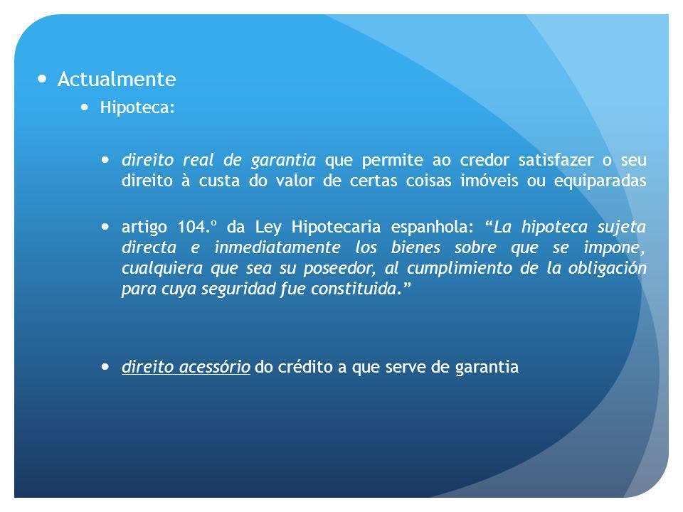 Actualmente Hipoteca: