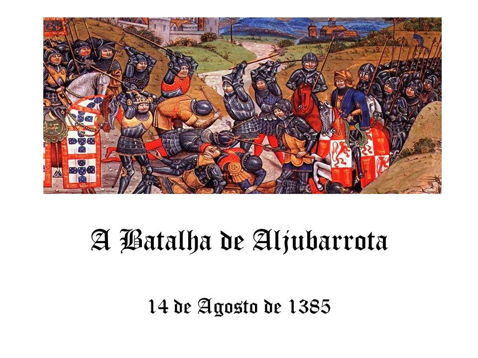 A Batalha de Aljubarrota