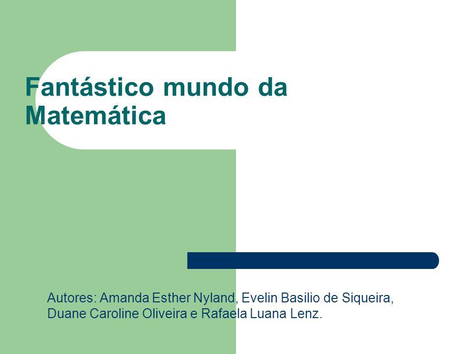 Fantástico mundo da Matemática