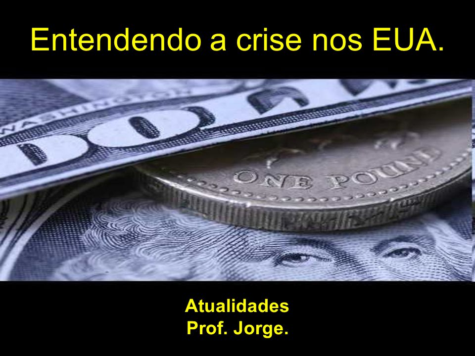Atualidades Prof. Jorge.