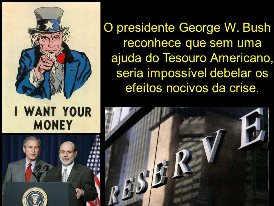 O presidente George W.