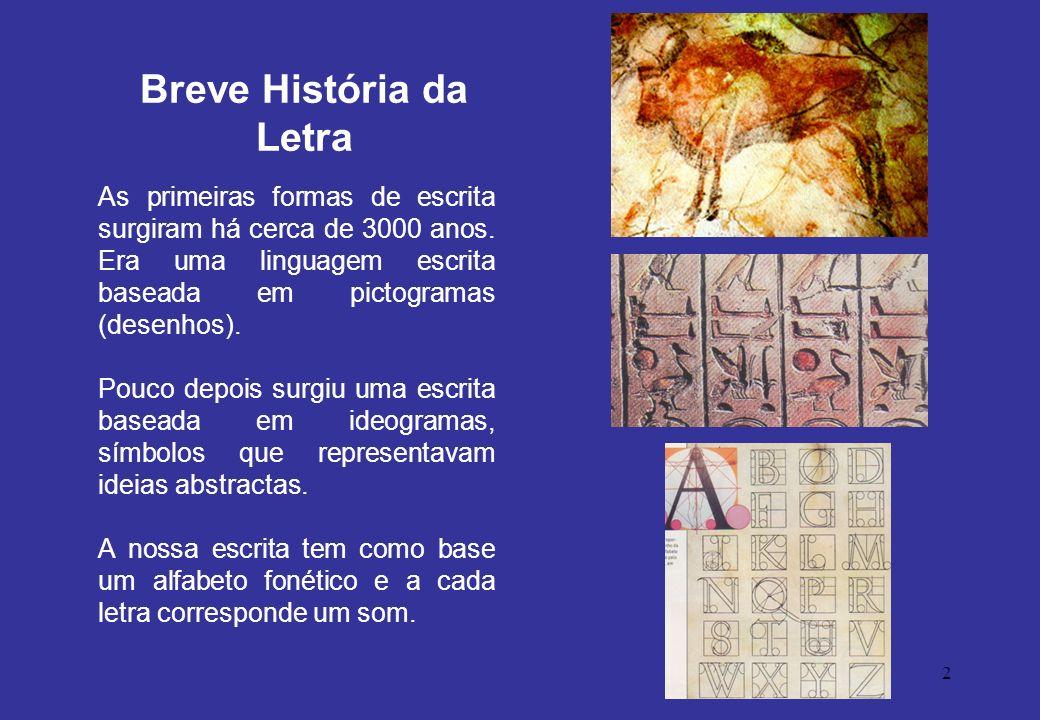 Breve História da Letra