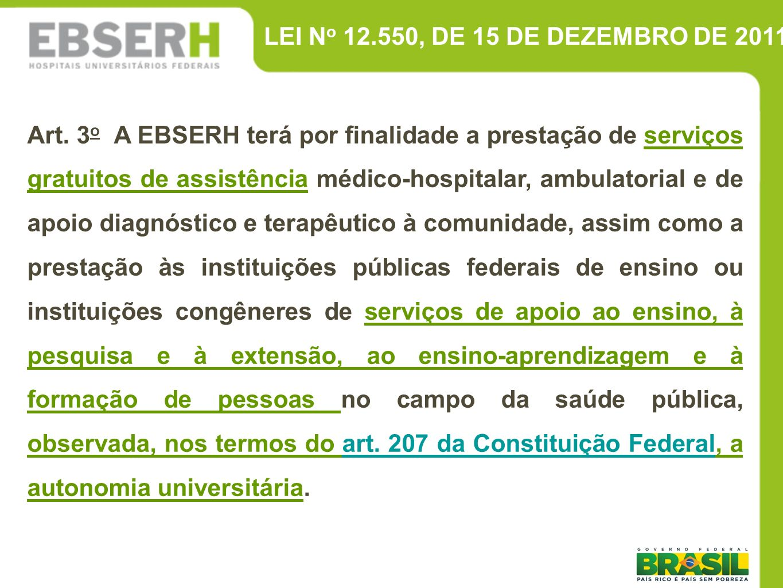 LEI No 12.550, DE 15 DE DEZEMBRO DE 2011